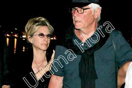 Barbra Streisand y su marido, James Brolin, en Mallorca