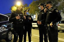 Detenido un conductor drogado y sin carnet tras una persecución en Palma