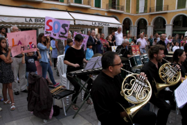 Concierto de la Orquesta en la Plaza Mayor