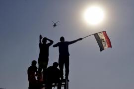 CONCENTRACIÓN EN LA PLAZA TAHRIR DE EL CAIRO