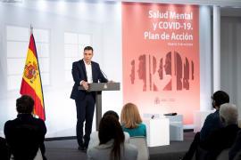 Sánchez anuncia un Plan de Acción 2021-2024 de Salud Mental