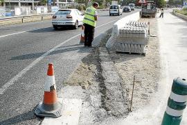 El Consell mejora la seguridad de los peatones que cruzan la 'carretera militar' de s'Arenal