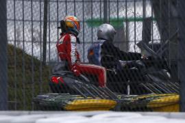 Vettel lidera los segundos entrenamientos libres en los que Alonso queda sexto