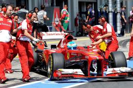 Alonso: «La 'pole' estaba descartada, pero somos optimistas para la carrera»