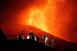 Proponen que el nuevo volcán de La Palma se llame Tajogaite