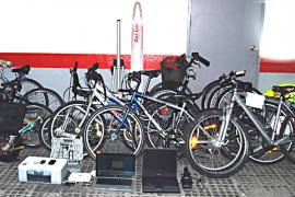 La banda 'del pedal' utilizaba a menores para robar las bicicletas y luego venderlas