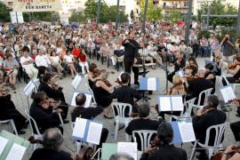 La protesta musical de la Simfònica ocupa el Parc de Son Dameto