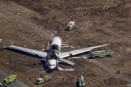 Dos muertos al estrellarse un avión coreano en el aeropuerto de San Francisco