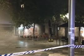 Incendio en el Burger King de Palma