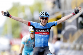 El irlandés Martin gana la novena etapa y Froome sigue de líder