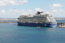 Piden controlar ya el tráfico de cruceros tras coincidir 5 en el puerto de Palma