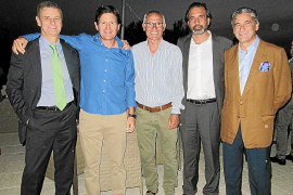 Celebración del décimo aniversario de la Copa del Rey lograda por el Real Mallorca