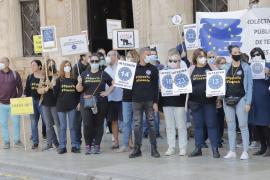 Los interinos de Baleares claman contra el abuso de la temporalidad