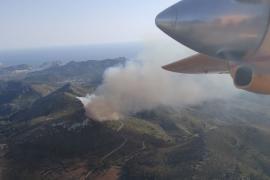 Los incendios forestales arrasan con 91,7 hectáreas en Baleares