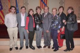 Presentación del libro 'La Marina Medieval Mallorquina' de Guillem Morro en el Parlament