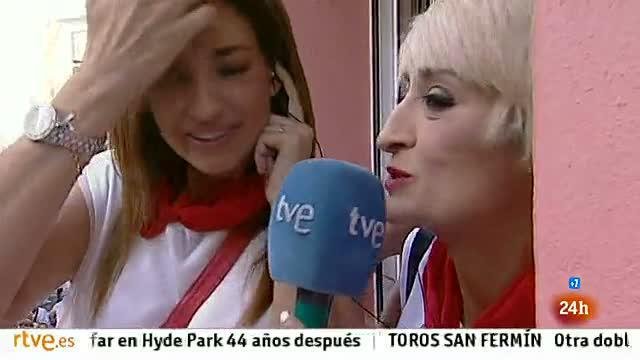 Mariló Montero, muy criticada por comparar un encierro de San Fermín con el Madrid Arena