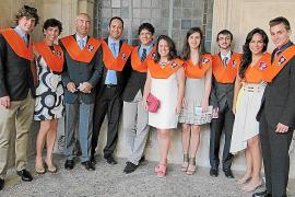 Clausura de curso de la Escuela de Turismo Felipe Moreno
