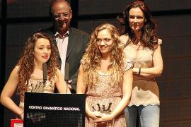 Actrices de Manacor reciben en Madrid los premios Buero de teatro