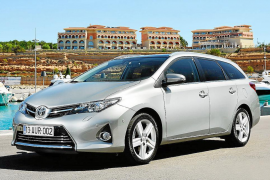 El Auris Touring Sports, en Mallorca