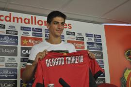 """Moreno: """"El proyecto del Mallorca es un reto para mí y lo afronto con ganas"""""""