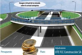 El Consell mantendrá la rotonda elevada de acceso al Molinar pese a las quejas del GOB