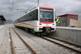 El metro de Palma ganó 6.000 usuarios durante el último  año