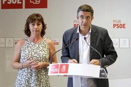 Patxi López: «Balears no se puede permitir  un presidente plano y sumiso ante Rajoy»