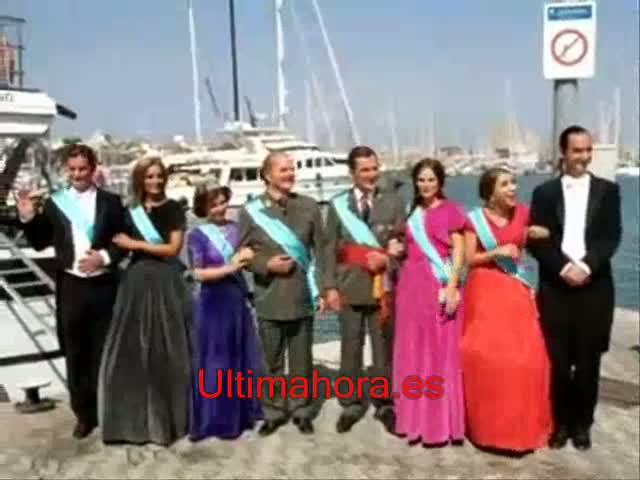 La familia 'irreal' más «gamberra» cambia Marivent por el Auditòrium
