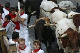 El quinto encierro de San Fermín también termina sin heridos por asta