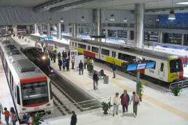 SFM ofrecerá 22 servicios diarios de metro entre Palma y la UIB este verano