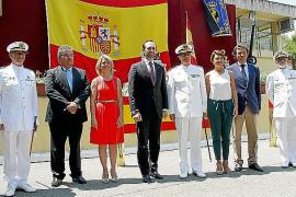 El capitán de navío Roberto Ortiz, nuevo jefe del Sector Naval de Baleares