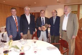 Francisco Sastre ofreció una comida en las Jornadas Oli de Mallorca