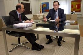 Rubalcaba rompe relaciones con el PP y exige la «dimisión  inmediata» de Rajoy