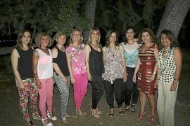 Cena solidaria en los jardines de Nazaret