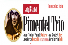Jesús Pimentel Trío, el protagonista de la semana en un ciclo de flamenco