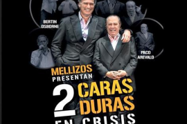 Mellizos, 2 caras duras en crisis