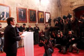 Antich nombra a Ferrer conseller de Turisme y deja abierta la crisis de Cort
