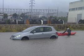 Una gran tormenta provoca más de 300 incidentes en Mallorca