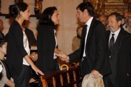 Emotivo y multitudinario funeral en memoria de Miquel Dalmau