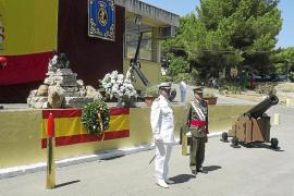 La Armada celebra la festividad de la Virgen del Carmen en Portopí
