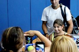 Rafael Nadal pasa revista