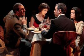 Amor y amistad  en la Mostra de teatre de Santa Eugènia con 'Tu digues que l'estimes'