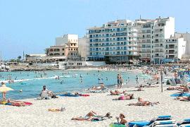 Cala Moreia (playa de s'Illot)