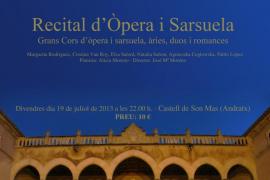 Ópera y Zarzuela a cargo de Capella Mallorquina y la Coral Municipal de Andratx