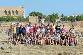 Las excavaciones de Pol·lèntia salen del foro después de treinta años