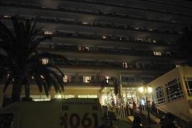 Un inglés, muy grave tras precipitarse desde el cuarto piso de su hotel en Magaluf