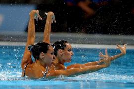 Marga Crespí y Ona Carbonell lucharán por las medallas en el dúo técnico