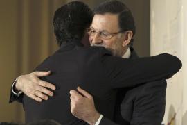 """Rajoy califica a Bauzá de """"brillante realidad política española por derecho propio"""""""
