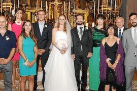 Boda de Catalina Marroig y Jaume Miquel