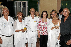 Festividad de la Virgen del Carmen en la estación naval de Sóller